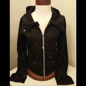 Adidas size small Respect me full zip nylon jacket